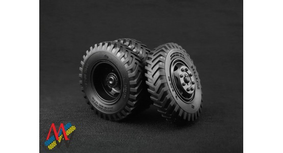 Today - October 10, 2018, MW has been completed development of a tire with a size 9.00-20 for ZiS-150, ZiL-164, BTR-152, etc. in scale 1:43.