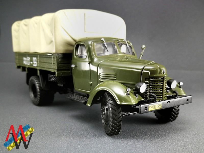 Gear turn wheels + axle for ZiL-164
