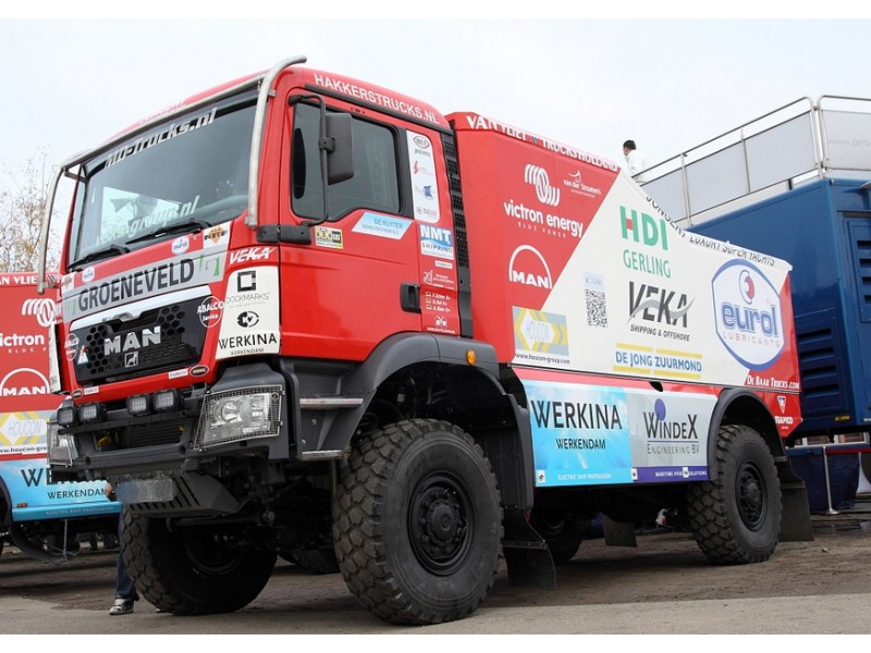 Set Off-road/Rally Truck