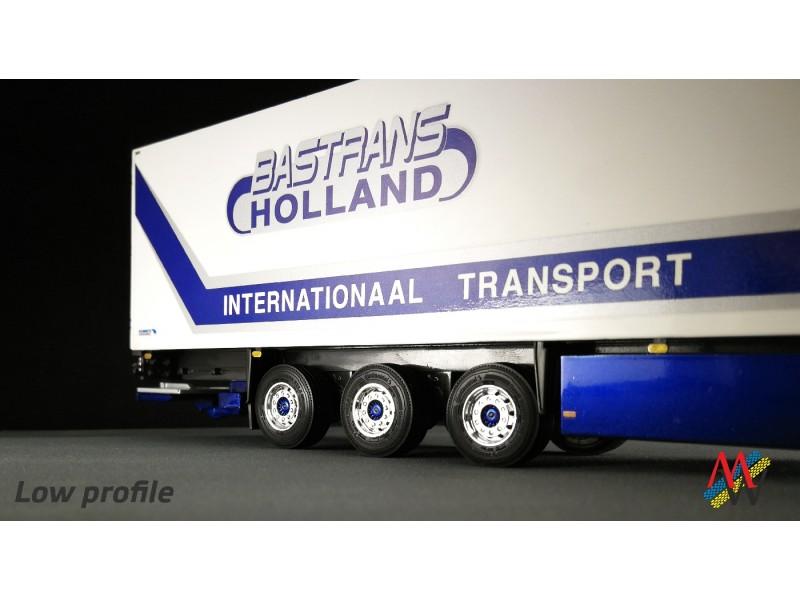 1:50 Tyre set 6x trailer low profile