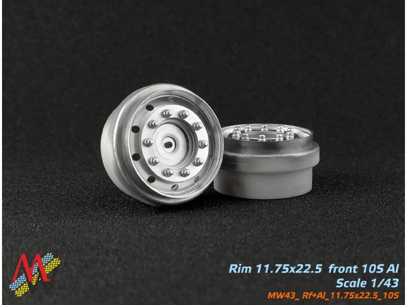 Rims 11,75х22,5 truck 10 small hole